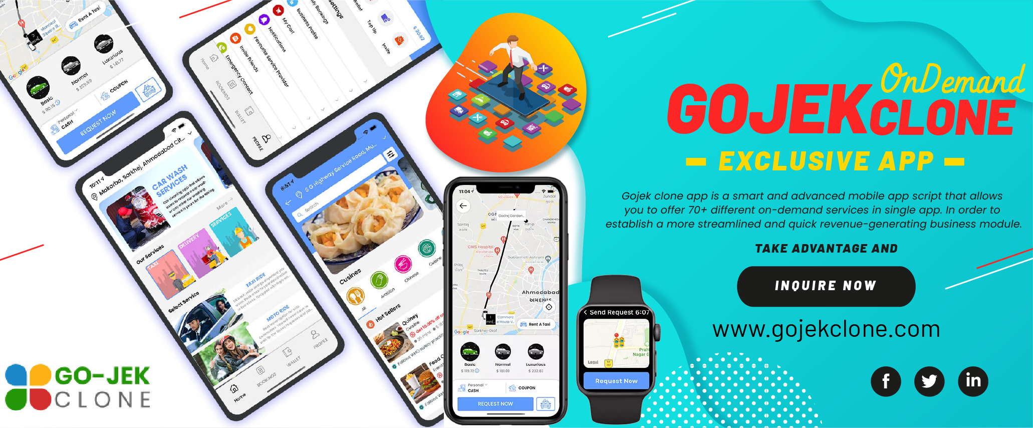 Launch Your Gojek Clone With New Features 2021 September